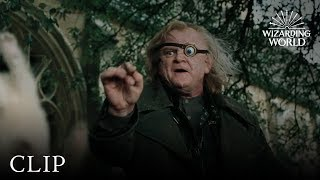 Professor Mad-Eye Moody vs. Draco | Harry Potter and the Goblet of Fire