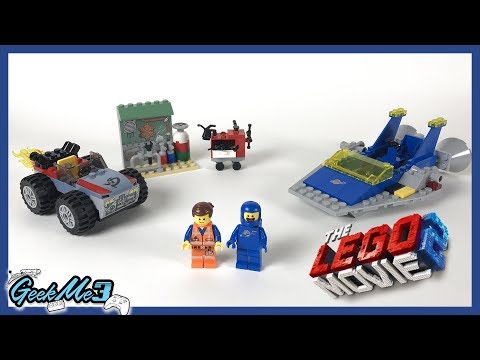 """Vidéo LEGO The LEGO Movie 70821 : L'atelier """"Construire et réparer"""" d'Emmet et Benny !"""