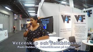Paula Dahlberg – VoF på Bokmässan 2019