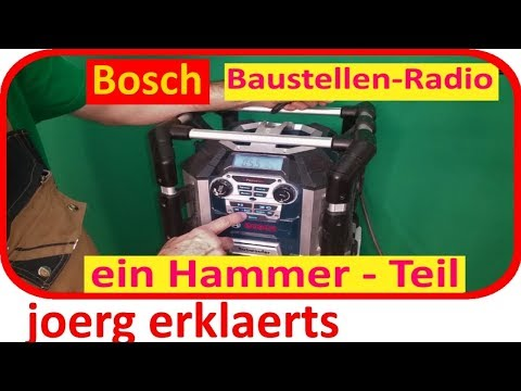 Ghetto Blaster Soundbox Bosch Baustellenradio Tutorial Nr.149