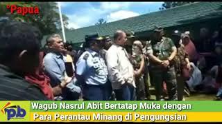 Wagub Nasrul Abit Menemui Perantau Minang di Wamena Papua