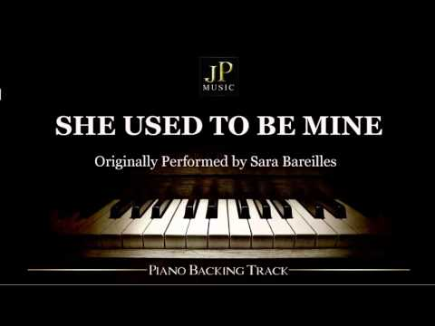 She Used To Be Mine by Sara Bareilles - Piano Accompaniment