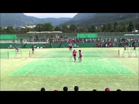 14 全国中学校ソフトテニス大会 女子決勝 2