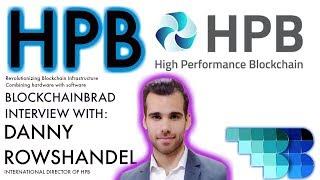 HPB Blockchain | BlockchainBrad Exclusive Interview | Crypto News | Update