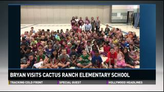 Great visit with Cactus Ranch Elementary 10/30/14