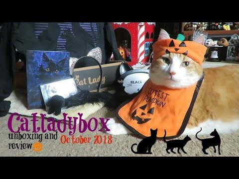 CatLadyBox Unboxing And Review | October 2018