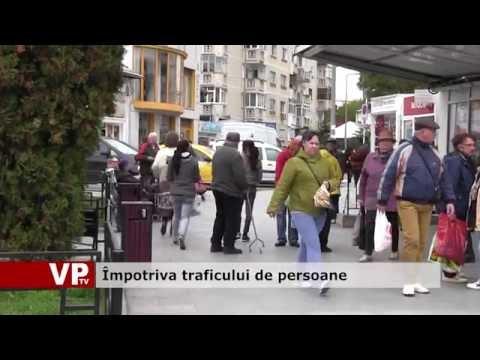 Împotriva traficului de persoane