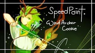 [Cookie Run] Wind Archer Speedpaint!