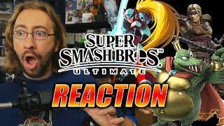 MAX REACTS: Simon Belmont, King K. Rool & A TON MORE - Smash Bros Ultimate