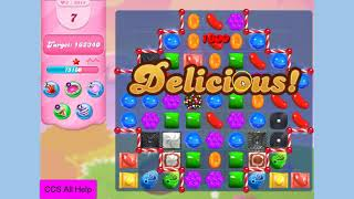 Candy Crush Saga Level 3915 NO BOOSTERS Cookie