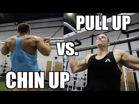 Pull Up vs Chin Up - Which is Better For Size and Definition?