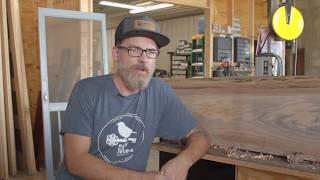 Custom Door Craftsman Adrian Kennedy Restoring Antique Doors