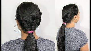 Easy And Stylish Low Ponytail Hairstyle For Special Occasions