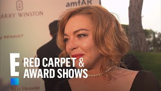 <b>Lindsay Lohan</b> Opens Up On Latest Projects  E Live From The Red Carpet
