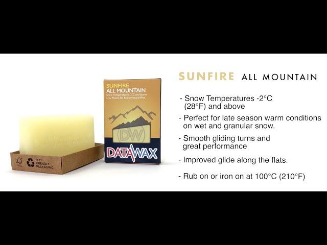 Sunfire All Mountain Wax