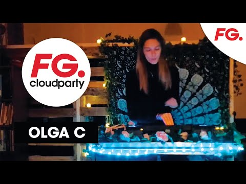 LUNDI BLEU : OLGA C   FG CLOUD PARTY   LIVE DJ MIX   RADIO FG
