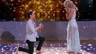 Surprise marriage proposal on 'Dancing with the Star...