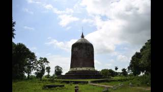 preview picture of video 'Baw Baw Gyi Stupa, Pyay (Prome), Myanmar'