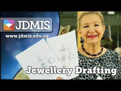 Jewellery Design Technical Drawing with Tanja Sadow from JDMIS