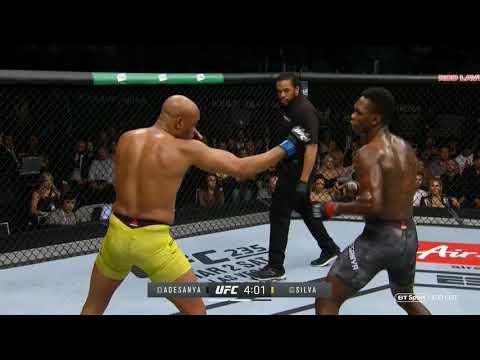 UFC 234: Israel Adesanya vs. Anderson Silva - video