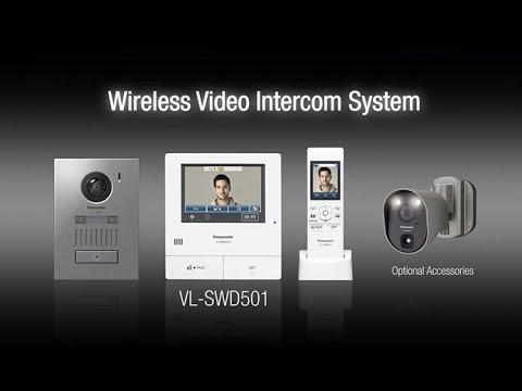 Panasonic Video Intercom System VL-SWD501EX (Sans fil)