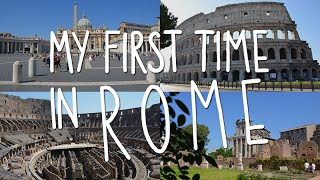 My first time in Rome ♡ | Vlog | DireiEllie