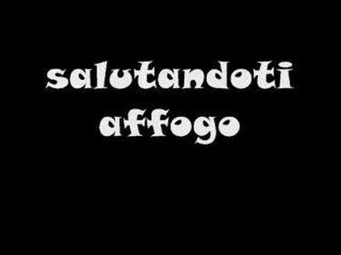 Significato della canzone Salutandoti affogo di Tiziano Ferro