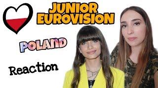JESC REACTION | POLAND | Viki Gabor   Superhero | Junior Eurovision 2019
