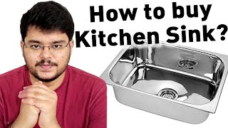 How to Choose a Kitchen Sink? #HomeTips 1 Granite or Stainless Steel Kitchen Sink.
