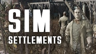 SIM Settlements - Settlements Build Themselves