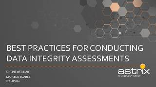 Best Practices for Conducting Data Integrity Assessments