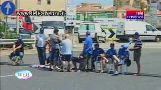 preview picture of video 'Villa San Giovanni: la protesta dei Forconi è terminata'