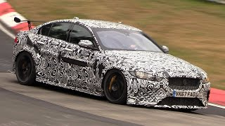 Jaguar XE SV Project 8 - Exhaust SOUNDS On The Nurburgring!