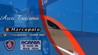Arca Turismo: Marcopolo Paradiso G7 1800 DD - Scania K-440 IB De 15 Metros