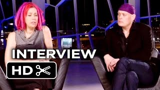 Jupiter Ascending Interview - Lana and Andy Wachowski (2015) - Channing Tatum Movie HD