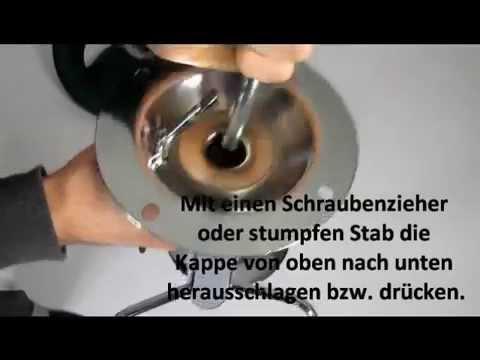 Barhocker Aufbau Kappe entfernen, Probleme mit der Gasdruckfeder Barstuhl