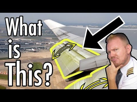 How do flaps work on an aircraft?