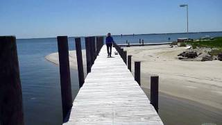 preview picture of video 'Greenvale Creek & Merry Point Ferry, Virginia'