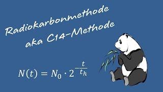C14 Methode Zur Altersbestimmung (Radiokarbonmethode)