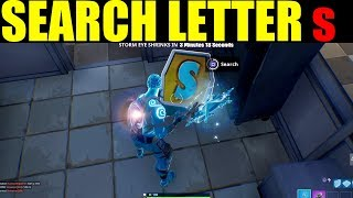 Search the letter s in wailing woods LOCATION! week 4 season 7 challenge guide