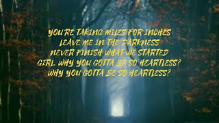 Diplo   Heartless Lyrics (ft. Morgan Wallen)