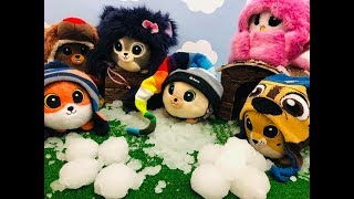 BAJKA GANG SŁODZIAKÓW 🦊🐰 Słodziaki 🦉🐻 Bitwa śnieżkami  ❄️❄️⛄️❄️❄️❄️