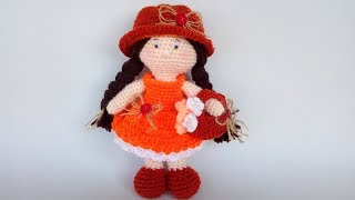 Padrão Boneca Amigurumi Crochê TAM G(Corpo) Prof. Simone Eleotério ... | 180x320
