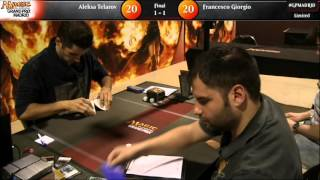 Grand Prix Madrid 2015 Finals: Aleksa Telarov vs. Francesco Giorgio (Limited)