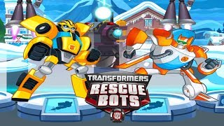 Трансформеры  Наперегонки с бедой Новый Автобот Бамблби прохождение игры Transformers Rescue Bots