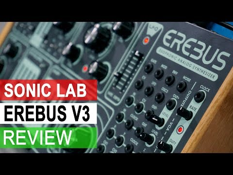 Sonic LAB: Dreadbox Erebus 3 Synthesizer Review
