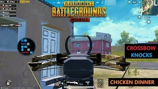 [Hindi] PUBG MOBILE | NICE CROSSBOW KILLS PLAYING WITH SUBS AMAZING CHICKEN DINNER