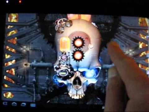 Video of Steampunk Skull Free Wallpaper