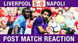 SALAH SCORES STUNNER & ALISSON IMPRESSES! Liverpool 5-0 Napoli Post-Match Reaction #LFC