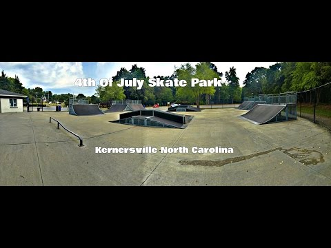 4th of July Skatepark in Kernersville NC.